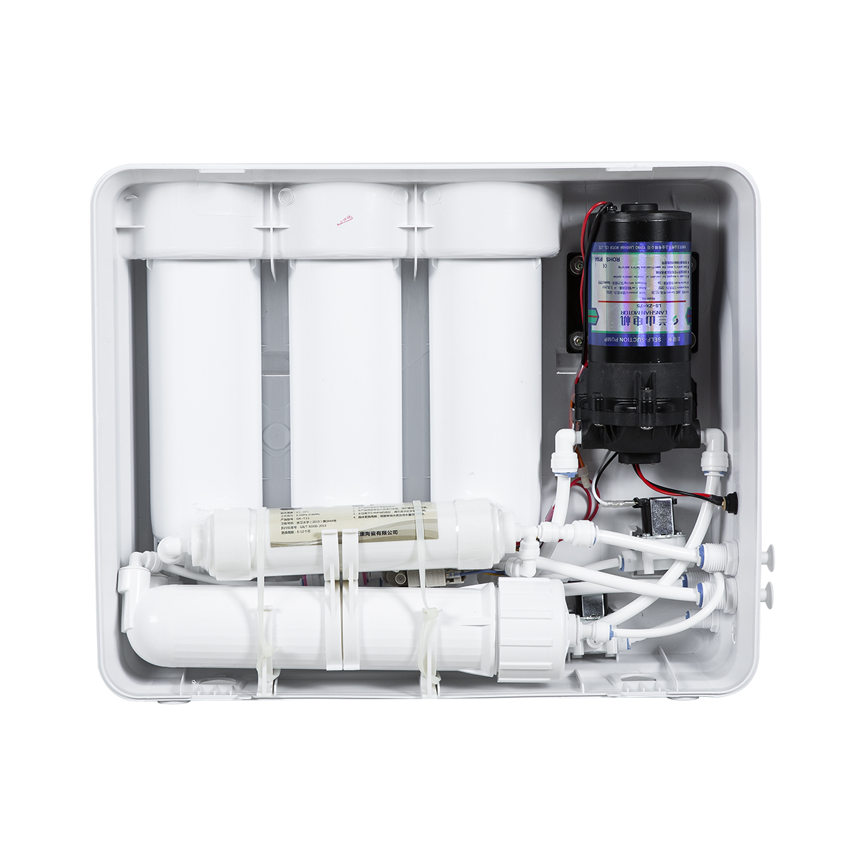 50G/75G/100G Wall Mounted 5 Stages Water Purifier System TN-RO168